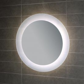 "WS Bath Collections Geometrie L45620 27.6"" x 27.6"" LED Wall Mounted Mirror"