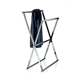 DW Cross 2 Free Standing Towel Stand in Chrome