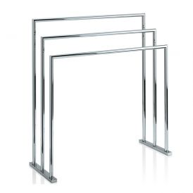 DW HT 9 Free Standing Towel Stand in Chrome