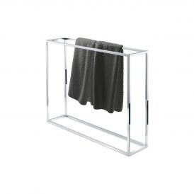 DW HT 40 Free Standing Towel Stand in Chrome