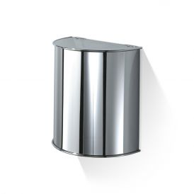 DW 31 Wall Mounted Waste Basket in Chrome