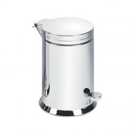 DW TE 38 Waste Basket in Chrome