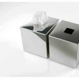 DW KB 93 Tissue Box in Polished Stainless Steel