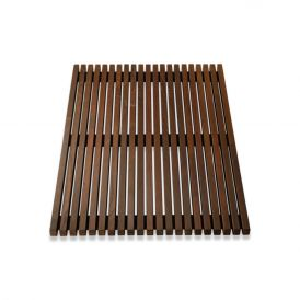 DW WO BME 5680 Shower Mat in Thermo-Ash Wood