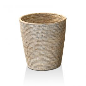 DW BASKET PK Waste Basket in Rattan
