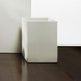 DW BROWNIE PK Artificial Leather Waste Basket