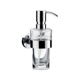 Eposa 0821.001.01 Wall Mounted Soap Dispenser in Crystal Clear