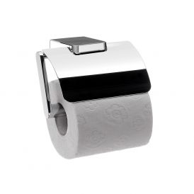 Trend 0200.001.02 Toilet Paper Holder with Lid in Polished Chrome