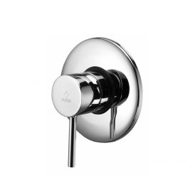 WS Bath Collection Light LIG 010 Built-in Shower Mixer with Wall Plate