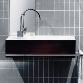 """WS Bath Collections Reverse RE 05-10 Wall Mounted Bathroom Sink 19.7"""" x 9.8"""""""