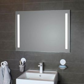 WS Bath Collections Simply LED Lighted Bathroom Wall Mirror