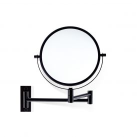 Smile 330 Reversible 5x/1x Magnifying Mirror in Matte Black
