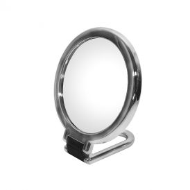 WS Bath Collections Toelleta 387-3KK Table Magnifying Mirror 3x in Chrome