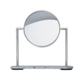 WS Bath Collections TS1 SS Magnifying Mirror 3x - 5x
