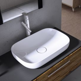 Vision 6260 Ceramic Countertop Bathroom Sink 23.8""