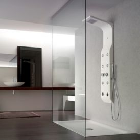 WS Bath Collections ZeroCube Shower Column