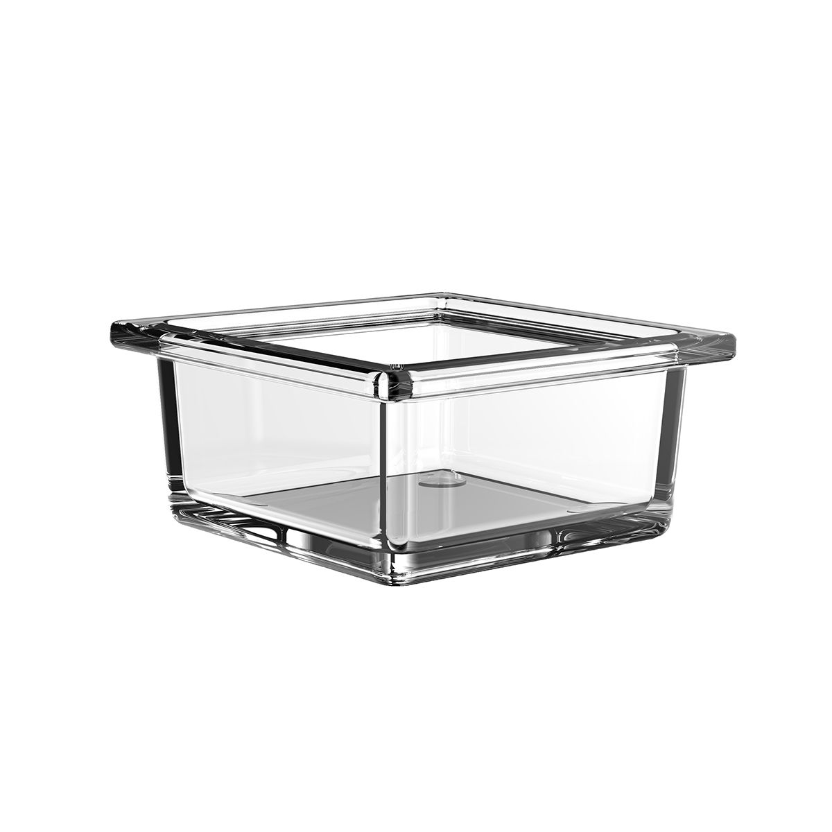 Liaison 1866 000 00 Free Standing Soap Dish In Clear Crystal Glass Modo Bath