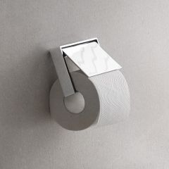 Liaison 1800.001.00 Toilet Paper Holder With Cover in Polished Chrome