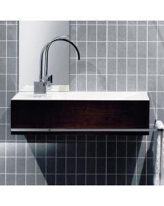 "WS Bath Collections Reverse RE 05-10 Wall Mounted Bathroom Sink 19.7"" x 9.8"""