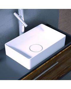 Vision 6042 Ceramic Countertop Bathroom Sink 16.5""