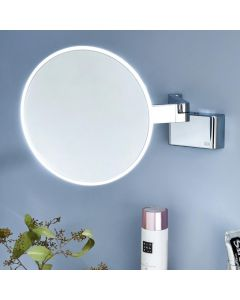 Spiegel 1095.060.30 Dimmable LED Magnifying Mirror with 5x Magnification