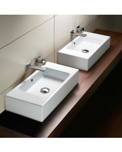 "GSI Tracia C52 Wall Mounted/ Vessel Bathroom Sink 20.5"" x 10.2"""