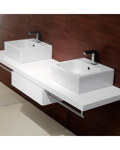 "GSI Tracia C40 Wall Mounted/ Vessel Bathroom Sink 15.7"" x 15.7"""
