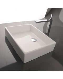 WS Bath Collections Unlimited 50A Vessel Bathroom Sink 19.7""
