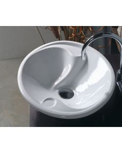 "WS Bath Collections LVO 400 Vessel Bathroom Sink 22.0"" x 17.7"""