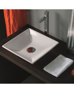 WS Bath Collections LVQ 120 Vessel Bathroom Sink 17.3""