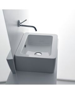"WS Bath Collections Ego 3247 Vessel Bathroom Sink 15.7"" x 15.0"""