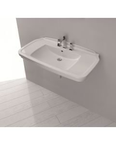 WS Bath Collections Nova 100 Wall Mounted Bathroom Sink 39.4""