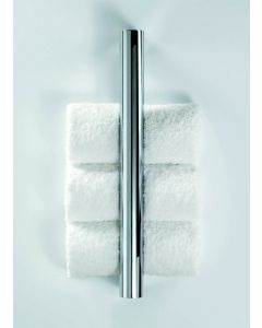 WS Bath Collections Harmony 801 Chrome Vertical Towel Bar 16.9""