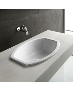 "WS Bath Collections GSI Element Top 56 Over Mount Sink 22.0"" x 15.5"""