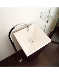 "Concert 51.55.50.317 Vessel Bathroom Sink 17.3"" x 17.3"""