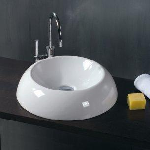 The Perfect Combo: A White Vessel Sink with a Chrome Faucet
